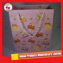 Promotional Large coated paper bag