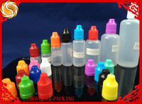 50ml PE plastic e-cig e-cigarette dropper bottle with child resistant cap