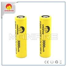 New coming Mainifire 18650 battery 3.7v 40A IMR18650 rechargeable li-ion battery