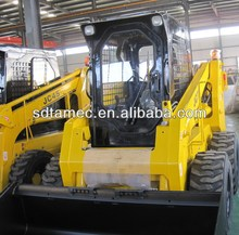 Powerful China Bobcat of 80hp, skid steer loader with capacity of 1050kg, CE approved with best price