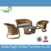 outdoor indoor garden rattan wicker aluminum dining set rattan outdoor furniture