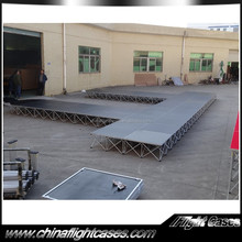 Factory build a stage for concert with wonderful style