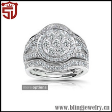 High Quality Top Sell Silver Cool Female Knot Ring