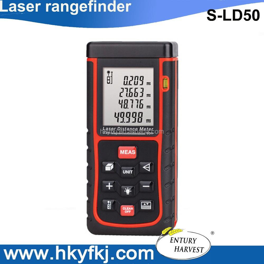 Volume Measuring Instruments : Distance area volume measuring instrument digital laser
