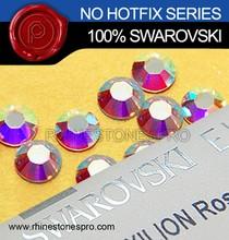 Genuine Swarovski Element AB Clear (001AB) 20ss Flat Back Crystal Stone