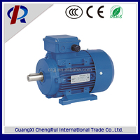 ms series 3 phase electric motor with brake