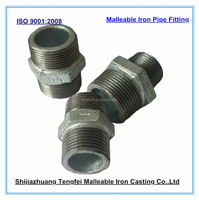 Malleable iron Hexagon nipples, Malleable Iron Pipe Fitting
