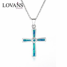 Opal Jewelri Pendant Opal Cross SPI014W