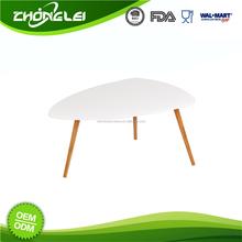 Top Grade 2015 Unique Design White Mdf Coffee Table