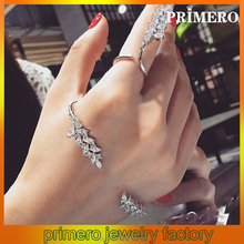 PRIMERO trendy antique jewelry branch shape latest fashion gold palm cuff wire bangle bracelet in bracelet and rings