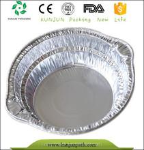 銀6011アルミ箔食品トレイ、 使い捨てトレイ、 ファーストフードの包装
