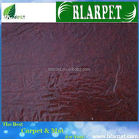 Top quality branded outdoor red stair exhibition carpet