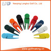 Blank plastic golf divot tool golf pitchfork