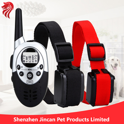 LCD Waterproof Remote Dog Training Collar Wholesale 15 Months Warranty