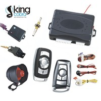 One way car alarm with ultrasonic sensor, for european markets