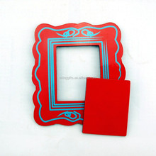 Custom size magnetic funia frame photo frame put with male female sex picture
