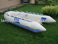 RIB boat /inflatable FRP boat with CE