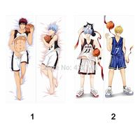 Dakimakura Anime pillow case (150X50CM) Japanese body/bedding pillow covers the basketball which kuroko plays Hugging Pillow