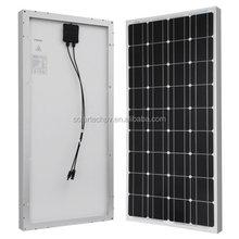 Bluesun 100W -130W poly mono solar panel, cheap price, manufacturer in china