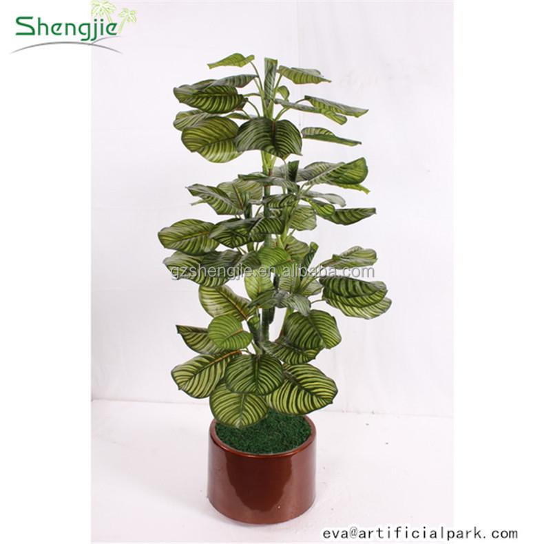 Sjzjn 184 chinois artificielle bonsa plante verte pas for Mini plantes vertes pas cher