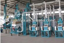 la línea productiva de harina de trigo, los equipos de procesamiento de harina de trigo, plantas de molino de harina de trigo