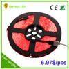 LED Strip 4.8 Watt 60 smd 3528 Warm White Waterproof