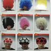 RX-004 Yiwu caddy colorful clown wig, Halloween party wig,wholesale cosplay clown wig