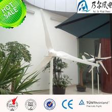 Generación de energía eólica de ca 2000w 48v/96v de viento generador de turbina