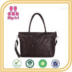 2015 Popular Leather Business Women Handbag/ Lady Dispatch Bag /Famous Brand Tote Bag
