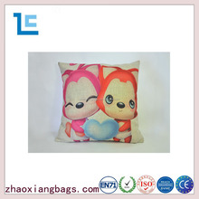 Zhaoxiang 2016 fox series cheap wholesale ali heart pillow