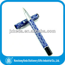 metal roller pen with heat transfer logo printing full color ball pen