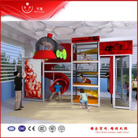indoor soft playground climb restaurant play equipment for sale