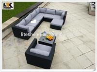 Classic Outdoor Garden Sofa /Rattan Patio Sofa