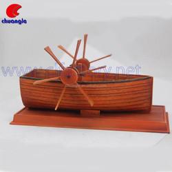 Custom High Quality Handmade Poly Boat Model Decor Crafts