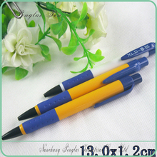 2015 Cheapest School Ball Pen, Bulk yellow bic plastic pen