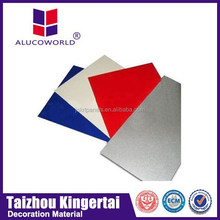 Alucoworld recyclable exterior cladding materials