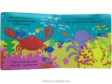 colorful children's board book printing