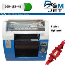 flatbed digital textile printer for piece fabric or garments.high speed flat type digital textile printer print on cotton,silk,