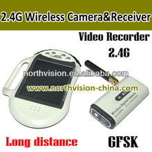 2.8 inch screen wireless usb dvr supports 4 cameras