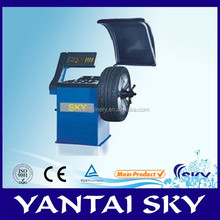 Best quality wheel balancer, wheel balancing machine SWB-99A