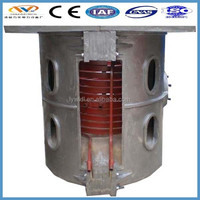 auto electrical system new Electric Iron induction furnace for melting scrap metal metallurgy machinery