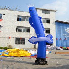 Blue inflatable advertising air dancer,indoor inflatable air dancer