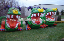 inflatable giant cartoon monsters/ inflatable advertising cartoon monsters/ air blow cartoon monsters balloon