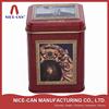 Top grade new design tea tin box/tin container for gift/tea/coffee