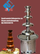 4 tiers stainless steel commercial party chocolate fountains