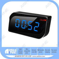 720P P2P HD Wireless Security Video Digital Fashion Cute Mini Clock Camera