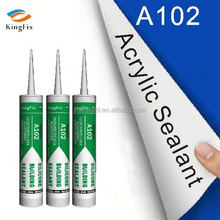 construction material UV rays resistant wood acrylic mastic sealant