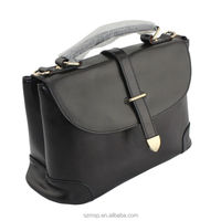 genuine leather classic post style woman handbag, multifunction shoulder bag, whole sale leather lady bag