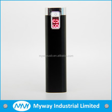 2014 bulk cheap mobile power charger / portable power bank / LED phone charger with power display