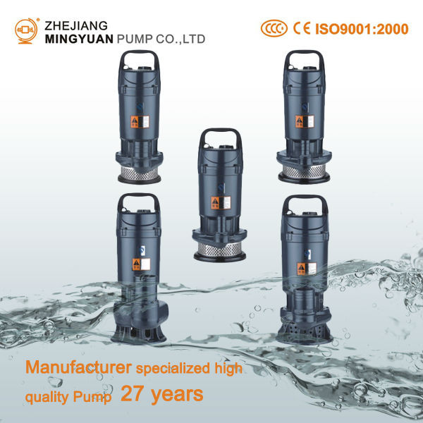 Manufacturer 27 Years Clean And Sewage Water Submersible
